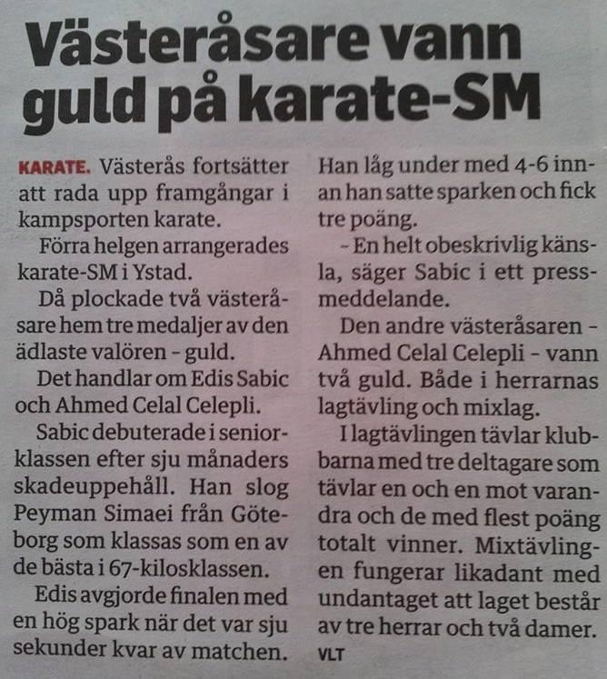 personlig träning pt personlig tränare västerås karate sm karatesm karate-sm p4 västmanland