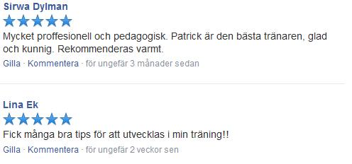 personlig träning pt personlig tränare västerås västmanland referens recension facebook gym träning crossfit aros factor world class actic sats
