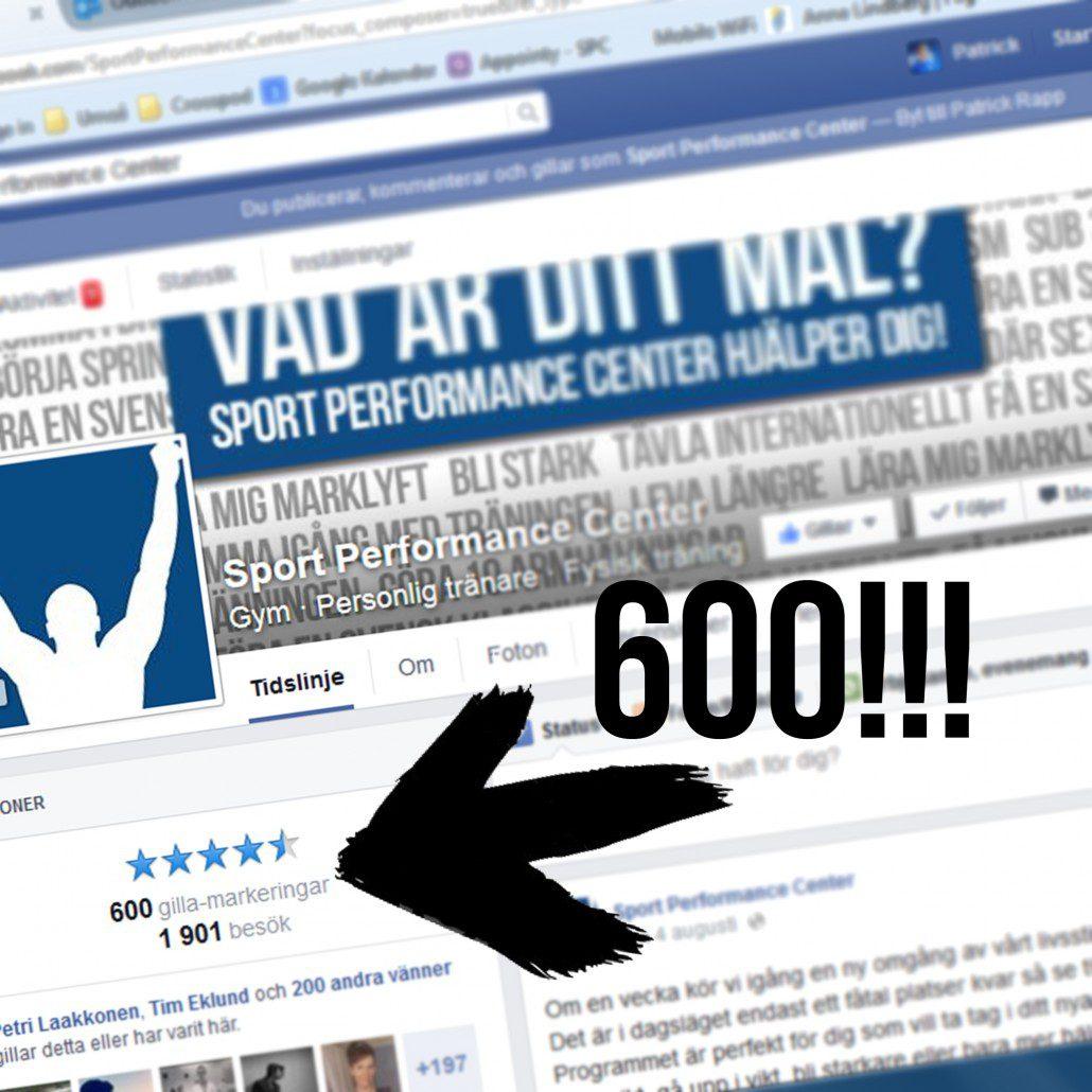 600 likes Facebook västerås pt personlig tränare personlig träning gym sport performance center patrick rapp träning gå ner i vikt motion kettlebell