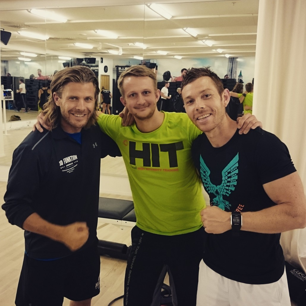 pt 3d funktion hockey vik hockeyfys patrick rapp andreas öhgren seth ronland västerås personlig tränare personal trainer training