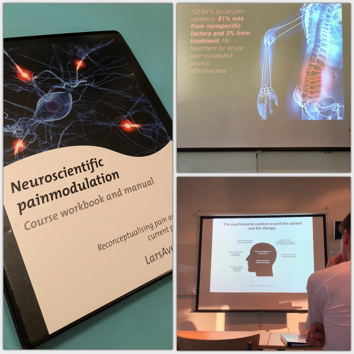 Vår personliga tränare Patrick Rapp var med på utbildningen Neuroscientific painmodulation i Göteborg